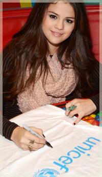 Selena + UNICEF