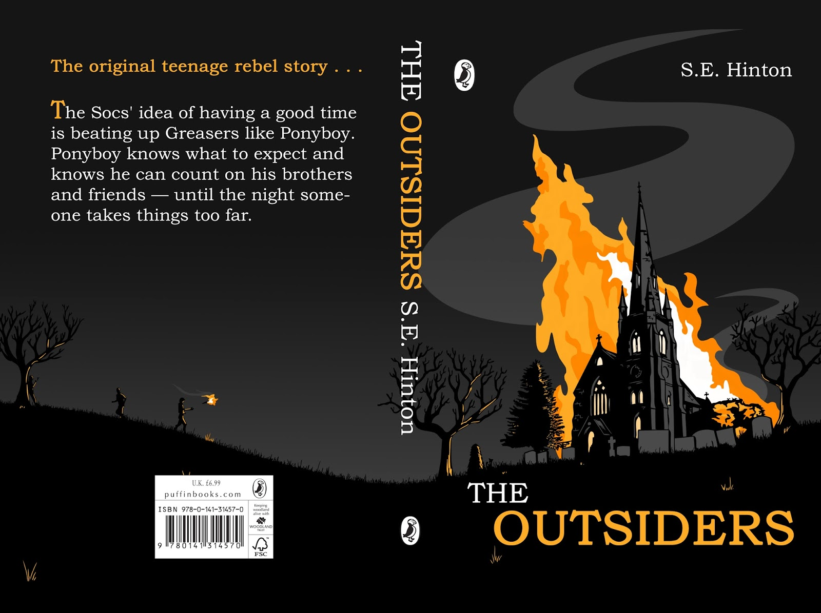 The Outsiders Book Cover Ideas : James mclarney art february