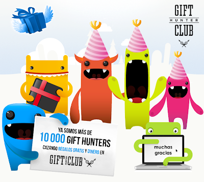 Ya somos mas de 10.000 usuarios en Gift-Hunter-Club