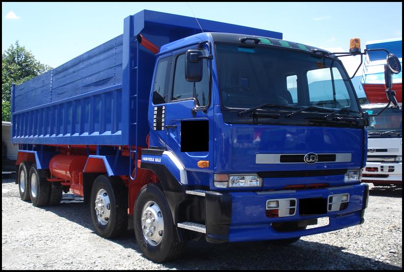 Nissan dump truck japan
