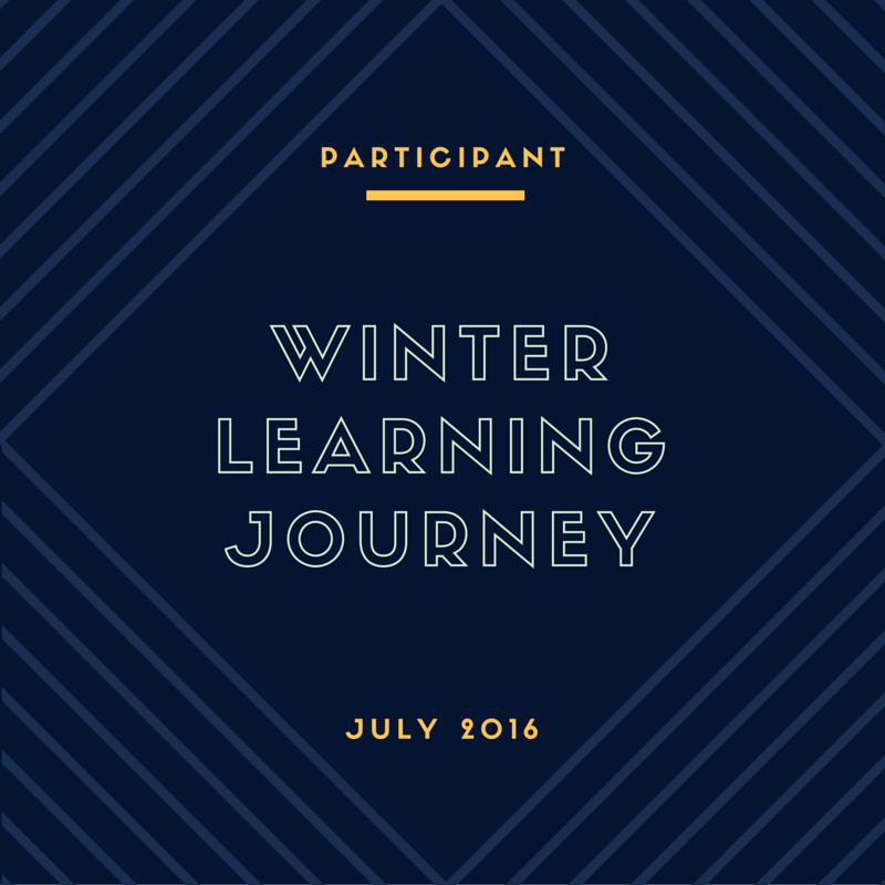 Winter 2016 Blog Award - 3rd Place