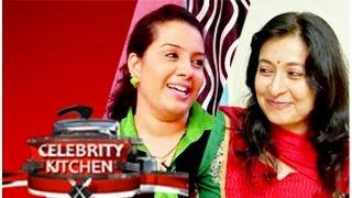 Actresses Suhasini & Sindhu in Celebrity Kitchen 21-12-2014