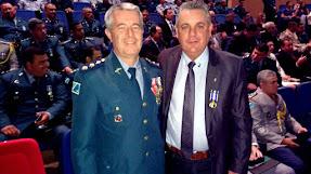 Comandante do 2º BPM participa de solenidade da Medalha Tiradentes