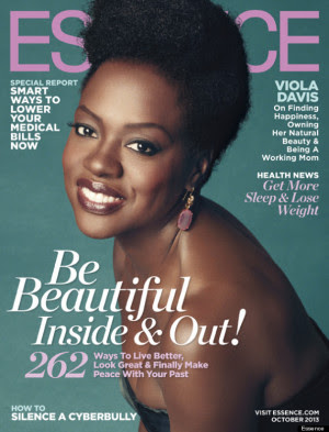 Viola Davis For Essence's October Issue