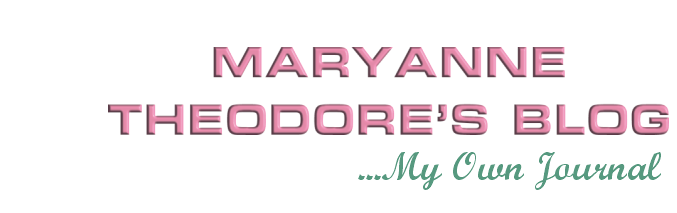 MaryAnne Theodore's Blog