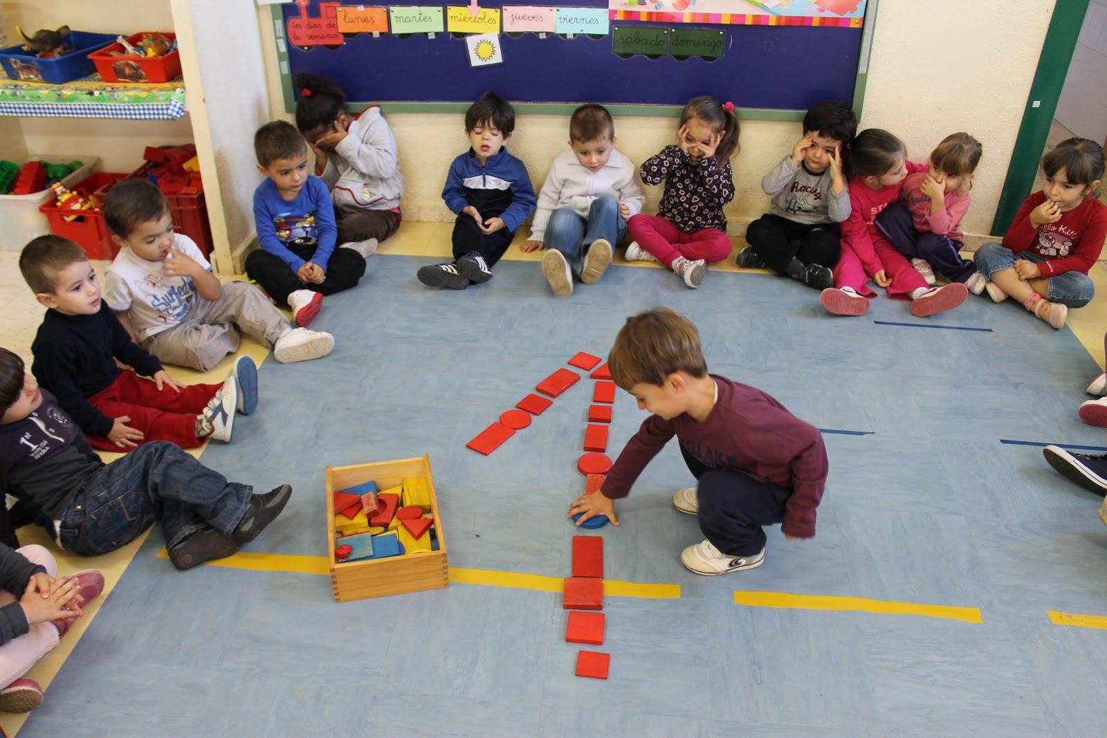 Maestra de Infantil: Los colores en 3 años. El rojo.