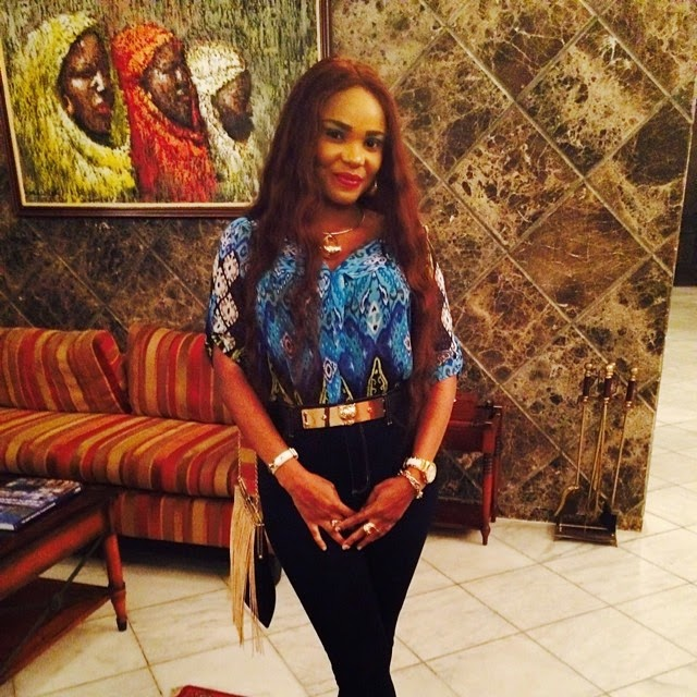 Iyabo Ojo at a Birthday Celebration