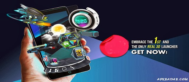 Next Launcher 3D Shell Full Apk 3.07