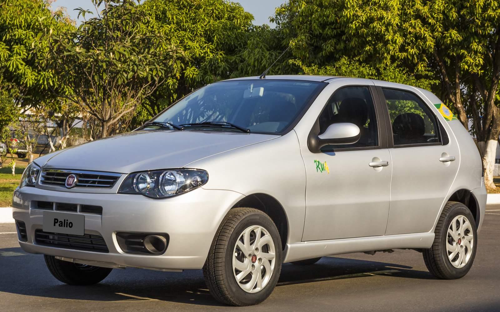 Fiat Palio + Novo Palio - líder de vendas no Brasil