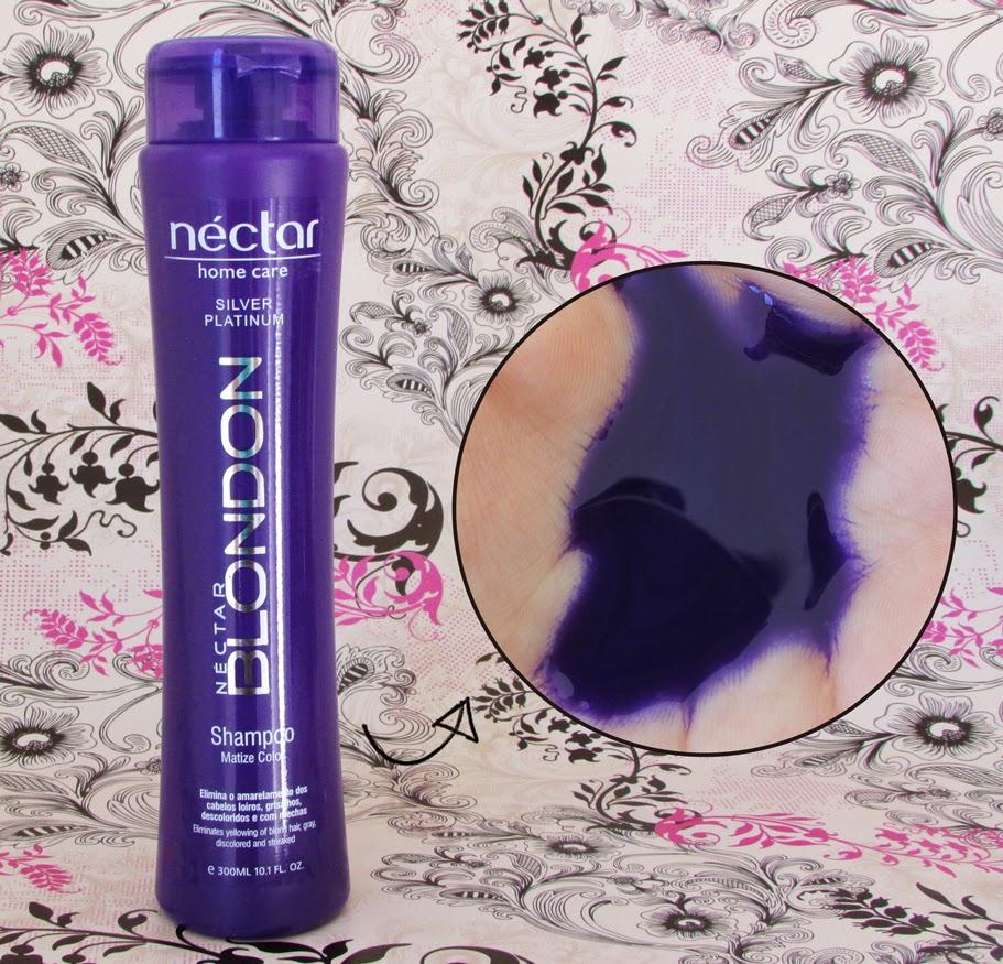 Resenha shampoo Blondon matizador Néctar do Brasil