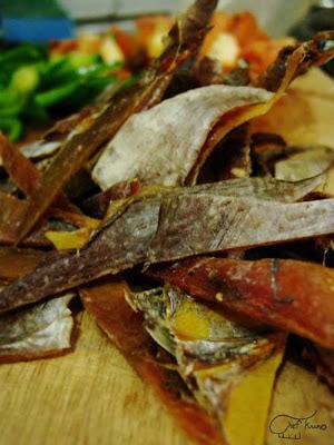 Dried danggit from Cebu - Chef Kuno