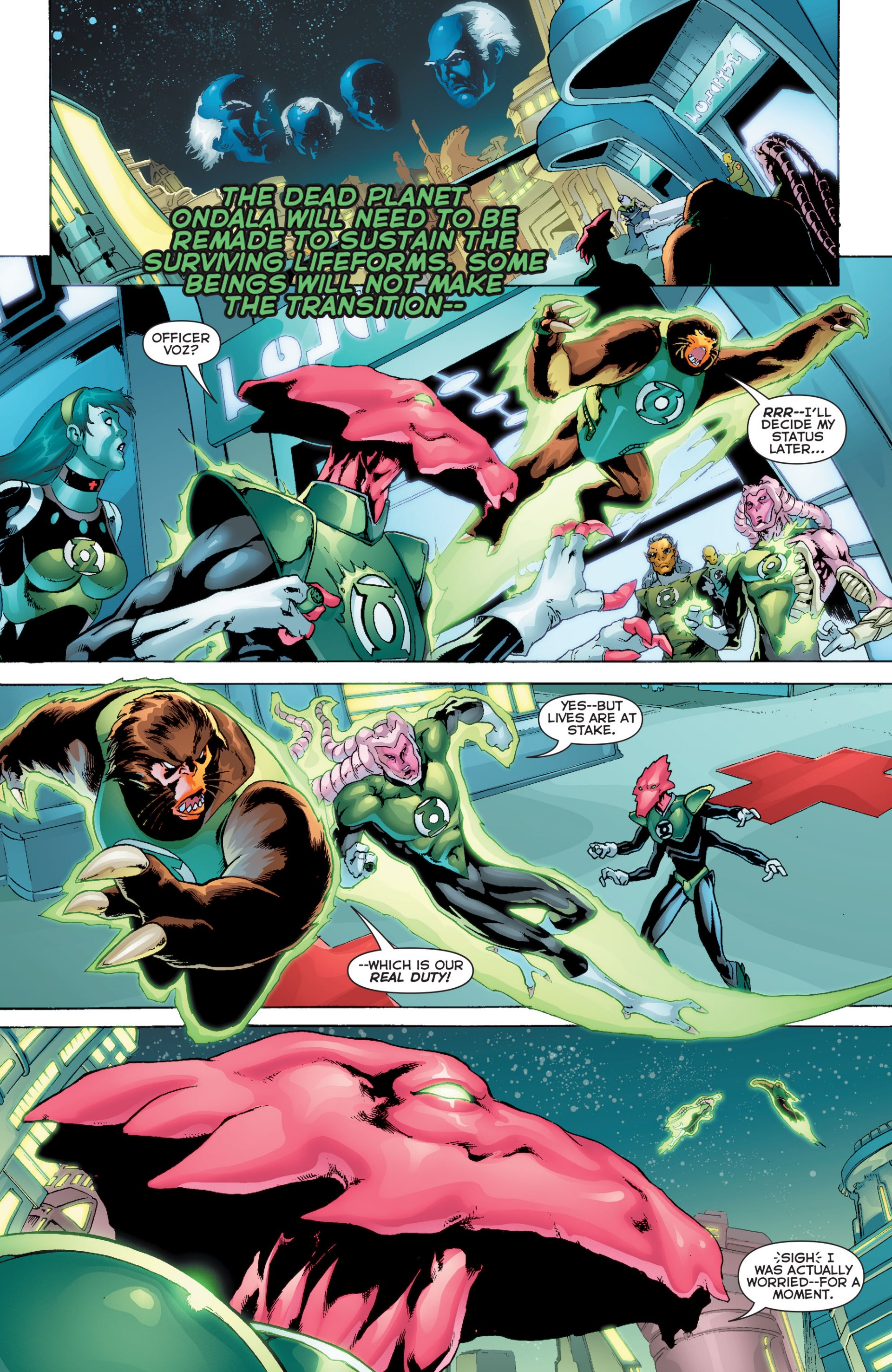 Read online Green Lantern Corps (2006) comic -  Issue #63 - 19
