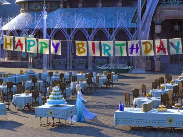 Cumpleaños de Anna en Frozen Fever