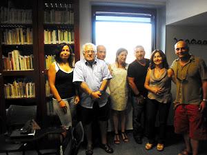 Reunión de escritores de Poesía en Acció