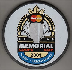 PUCK - 2000 - MEMORIAL CUP - KEVIN SHAW COLLECTION
