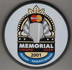 PUCK - 2000 - MEMORIAL CUP -