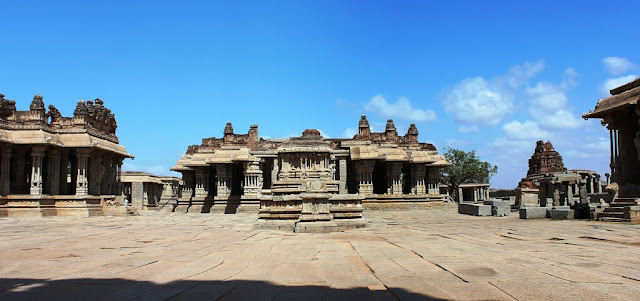 The sprawling Vitthala temple - Hampi Pick, Pack, Go