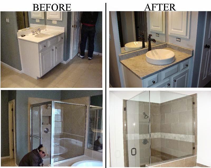 Flooring Fanatic June - Minor bathroom remodel