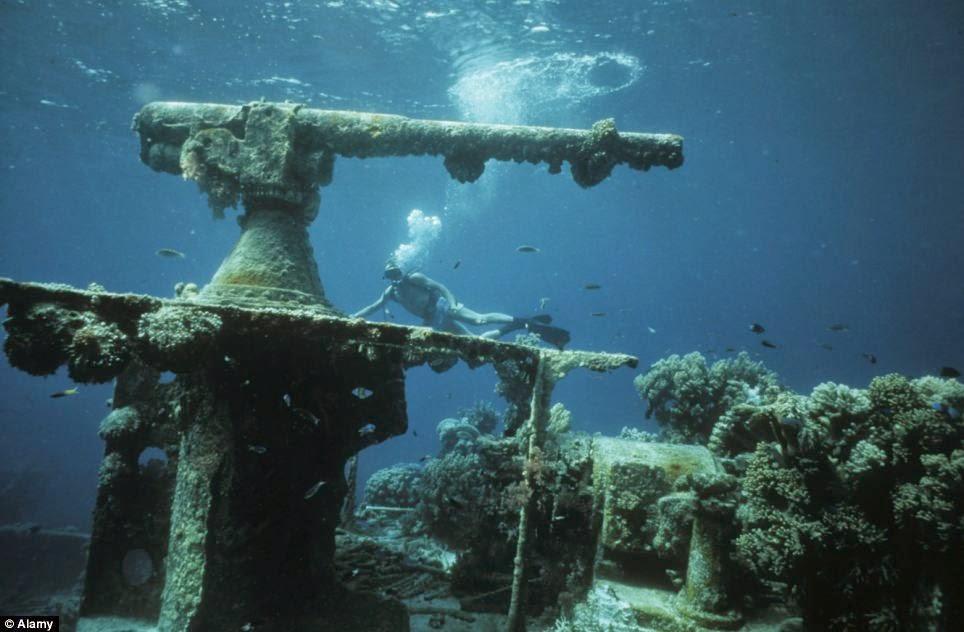 7 самых больших кладбищ затонувших кораблей в мире - 24сми.