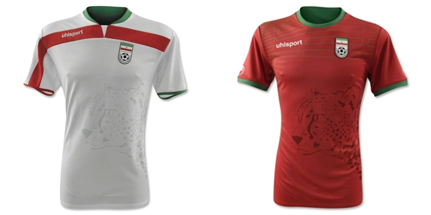 Iran - Jersey Grade Ori Piala Dunia 2014