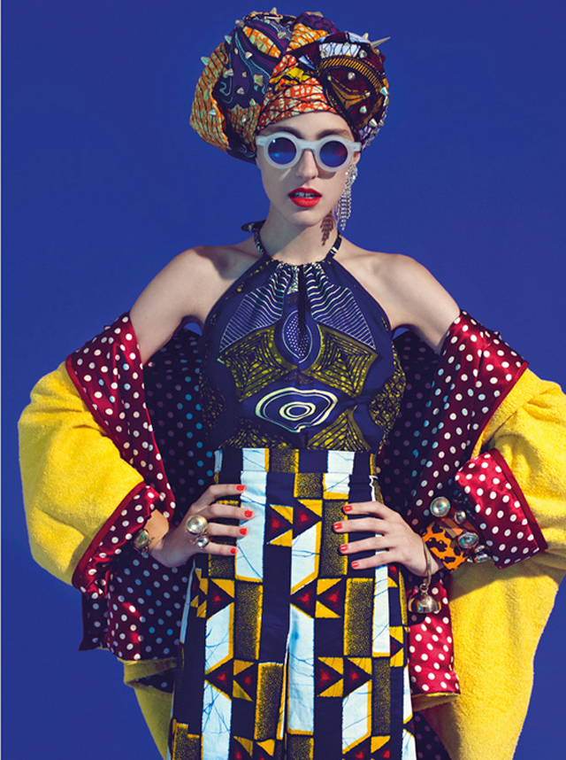 Tribal fashion and how to mix print/ African print fashion on ciaafrique