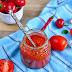 Sos pomidorowy z pieczoną papryką na zimę