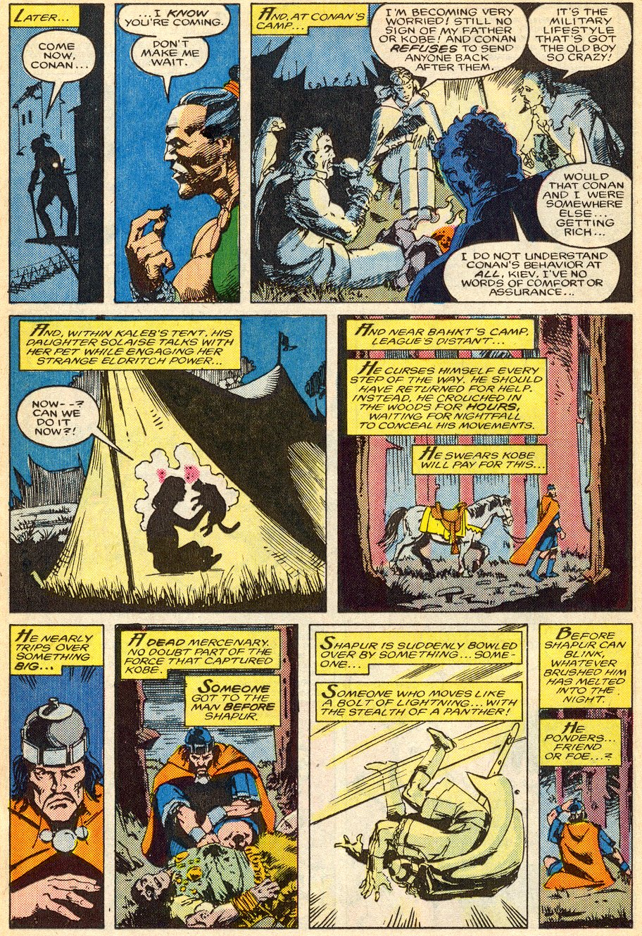 Conan the Barbarian (1970) Issue #195 #207 - English 19