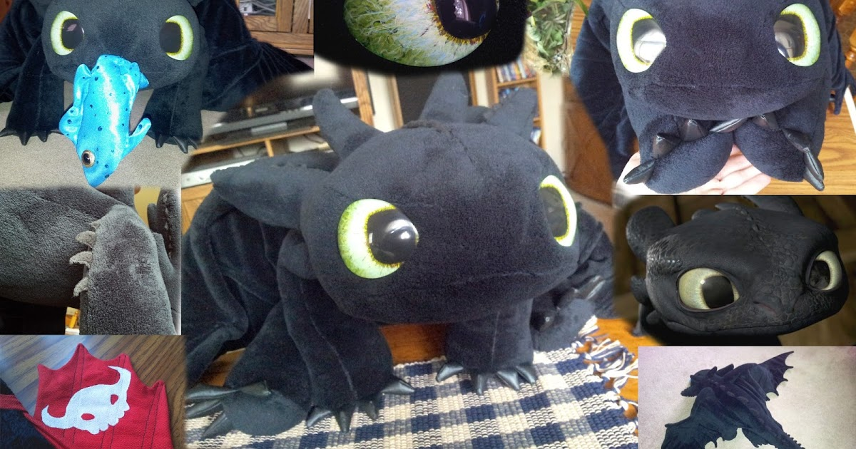 Quirky Artist Loft Free Pattern Toothless Dragon Plush