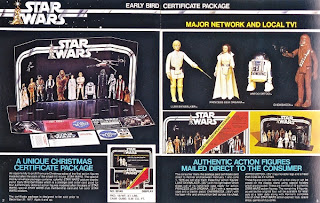 Kenner Star Wars Early Bird Certificate