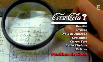 formule secrete coca cola
