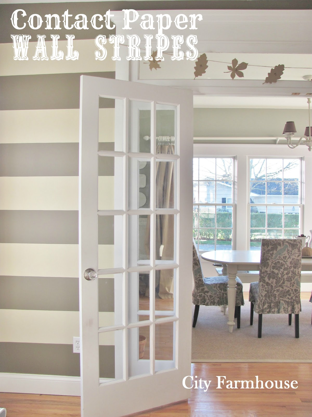 Contact Paper For Walls contact paper wall stripes - city farmhouse