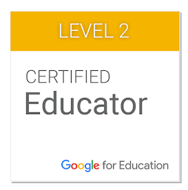 I'm a Google Certified Educator!