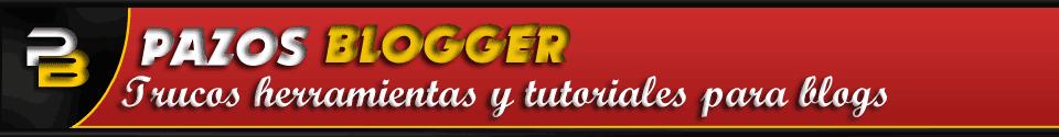 Ayuda para blog - Pazos Blogger