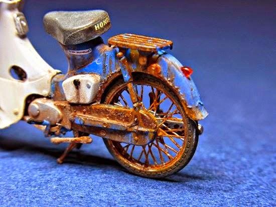 Xe Honda Cub Đồ Chơi