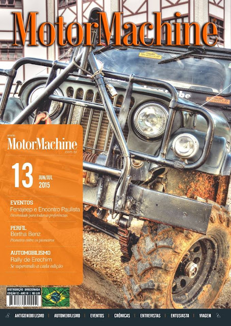 MotorMachine 13: foto de capa: Horacio Zabala