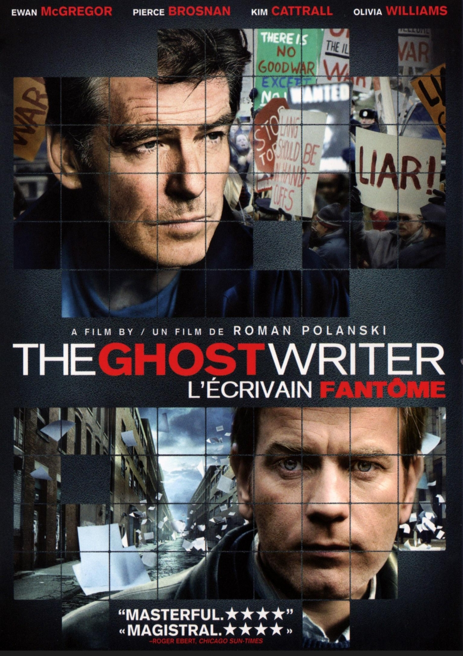 The Ghost Writer (2010) Poster