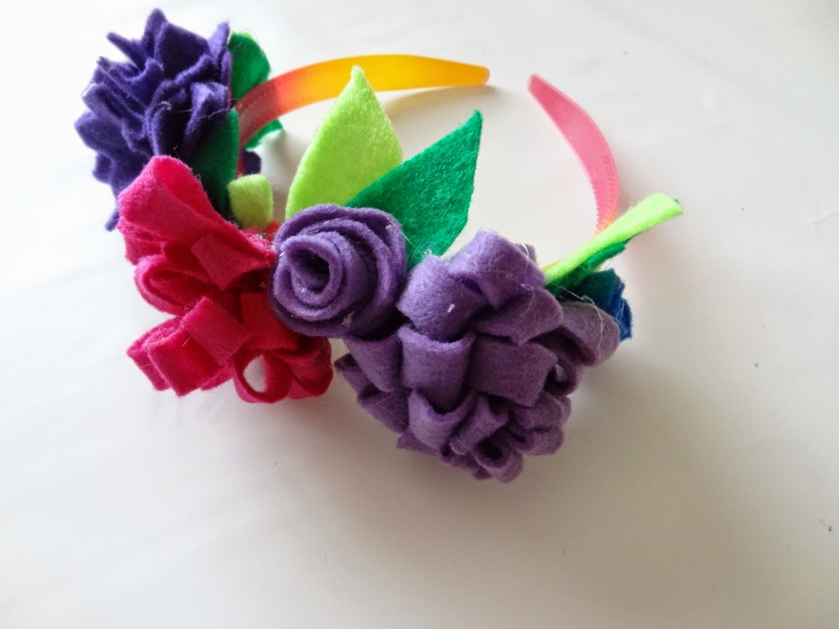 Flower Headband for Make Believe Week