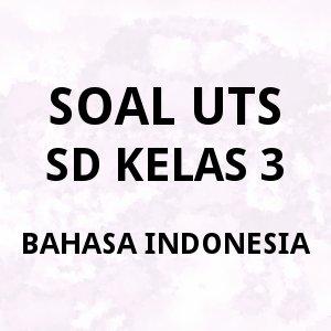 soal UTS SD kelas 3