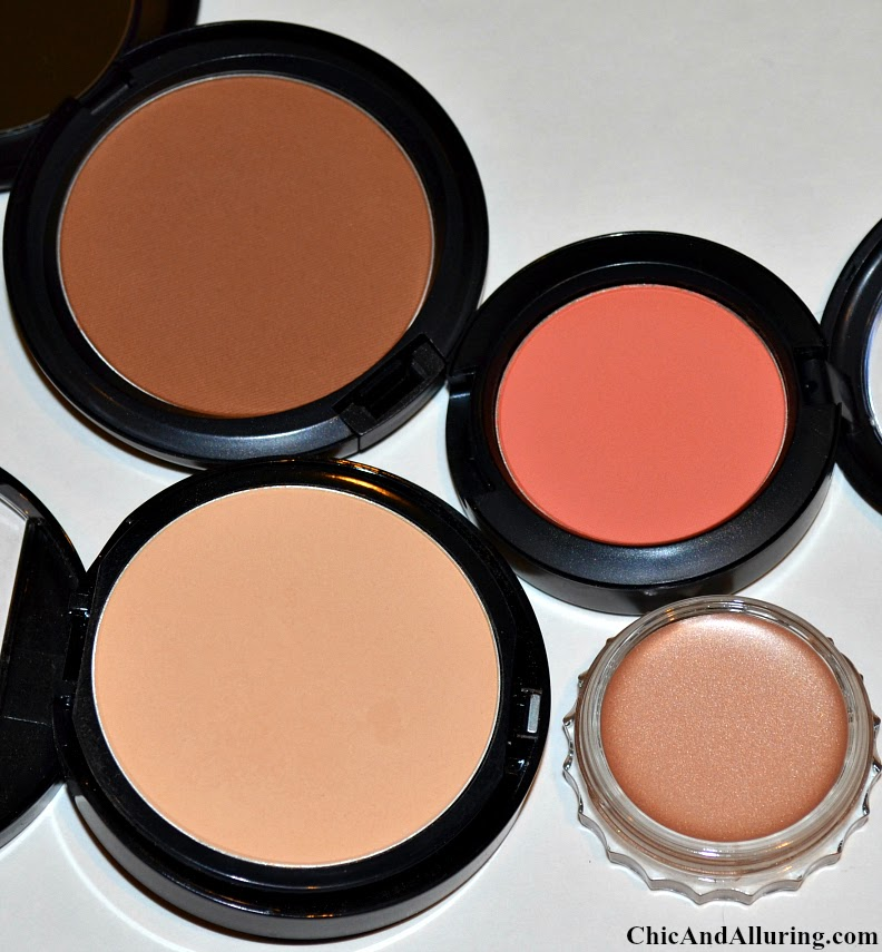 mac bronzer matte bronze review mac peaches blush review make up forever duo mat powder foundation review bareminerals bareskin foundation review benefit bikini-tini creaseless cream eyeshadow review