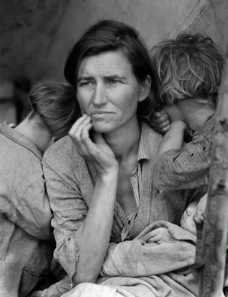 A Vintage Nerd, Vintage Blog, A Picture Worth a Thousand Words, The Migrant Mother Photo, Vintage Photos