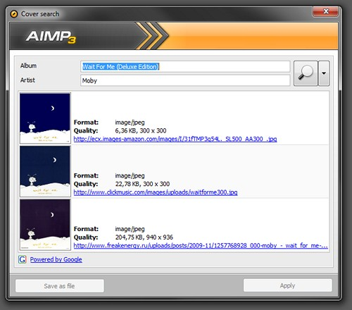 AIMP CoverArt Downloader