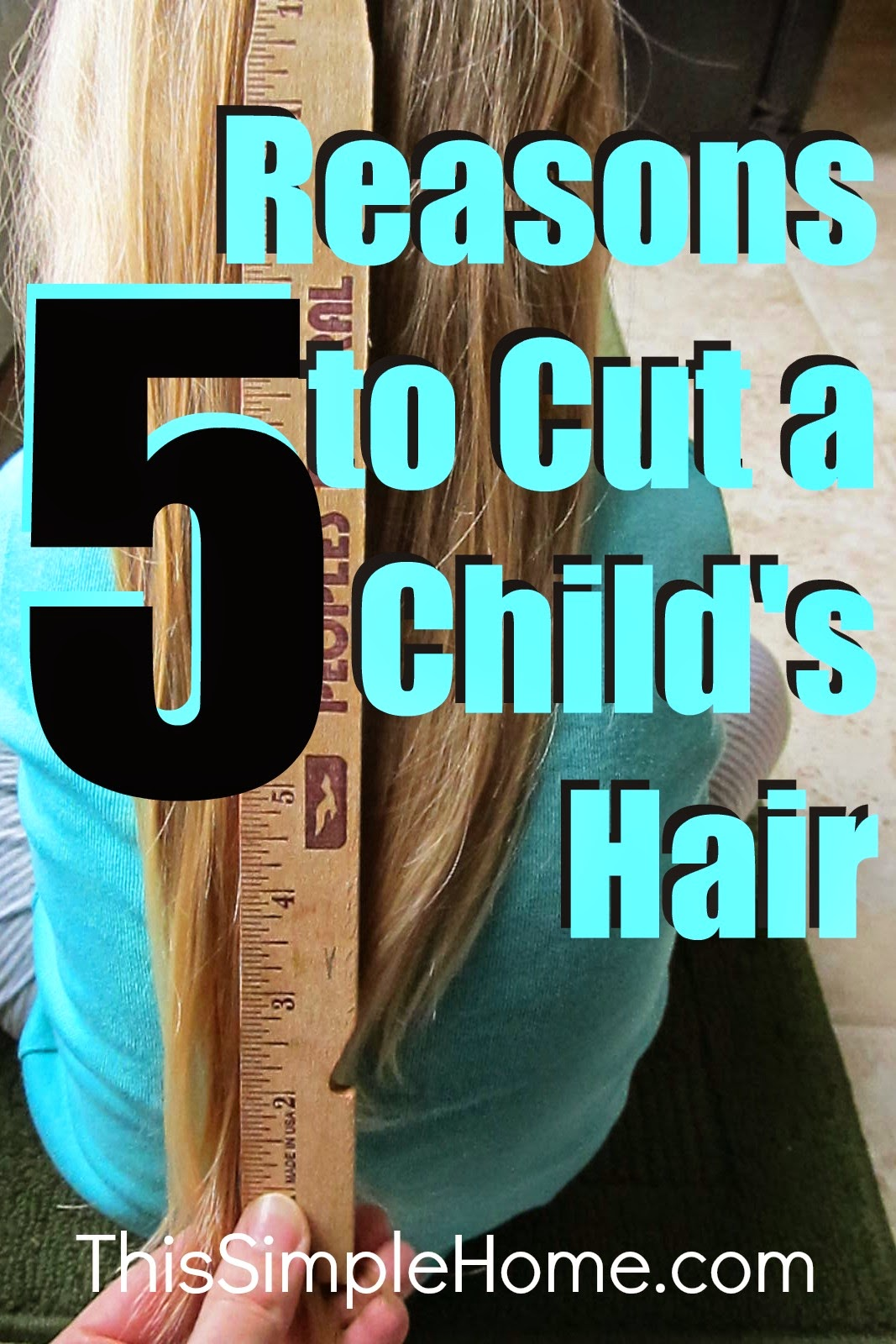 cut your child's hair short