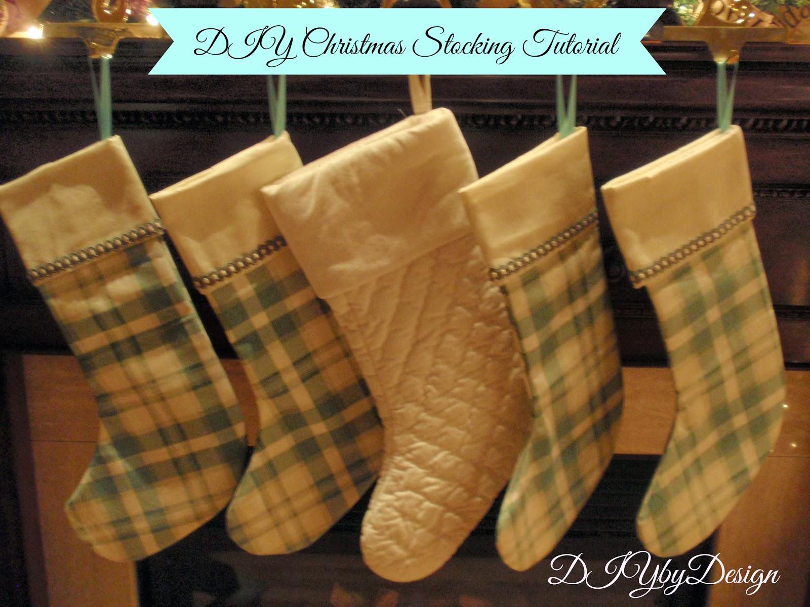 Diy By Design Diy Christmas Stocking Tutorial A Joann