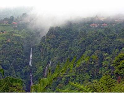 Panorama Curug Cigamea Bogor Jawa Barat