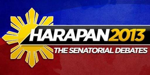 Harapan 2013: The Senatorial Debate Part 2 Airs Live on ABS-CBN Sunday's Best (April 28)
