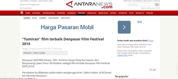http://www.antaranews.com/berita/449989/tumiran-film-terbaik-denpasar-film-festival-2014