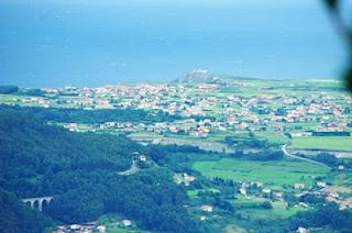 Vista de la costa de Cudillero