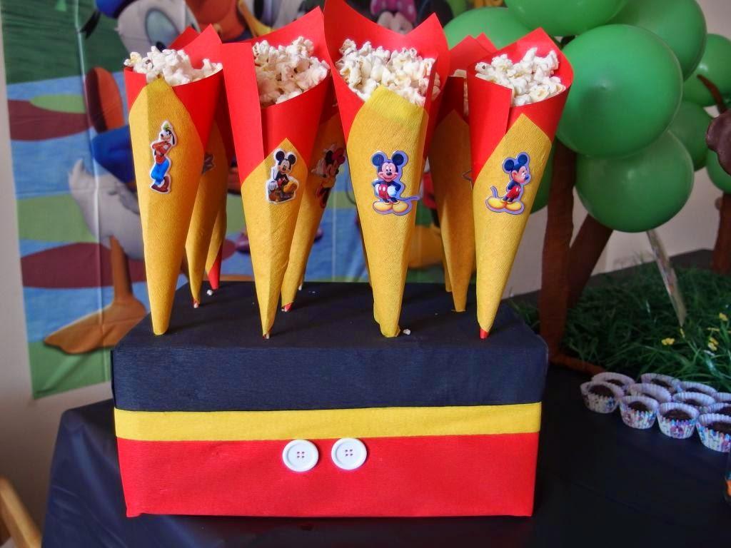 Decoraci n fiesta infantil mickey mouse ideas de un - Decoracion para fiestas infantiles mickey mouse ...