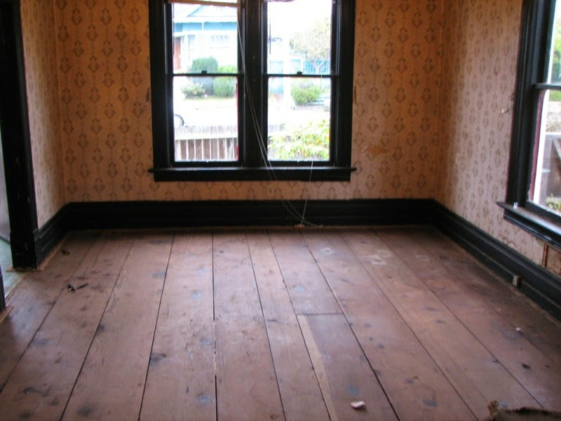 After looking at oak and maple hardwoods we came back to the redwood  subfloors. We loved the wide planks of old growth, some up toe 18 in. wide  and many of ... - Eureka Victorian Restoration: Redwood Floors €� From Subfloor To