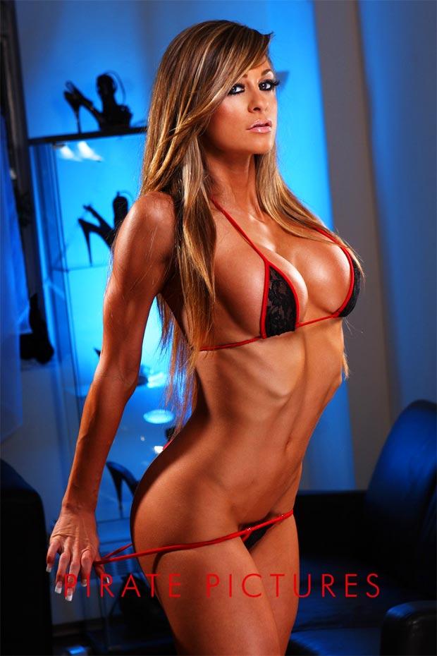 Фитнес моделей голые